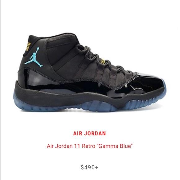 """4c40aaa28d64d0 Jordan Other - Air Jordan Retro 11 """"Gamma Blue"""" sz10.5 Great Cond"""